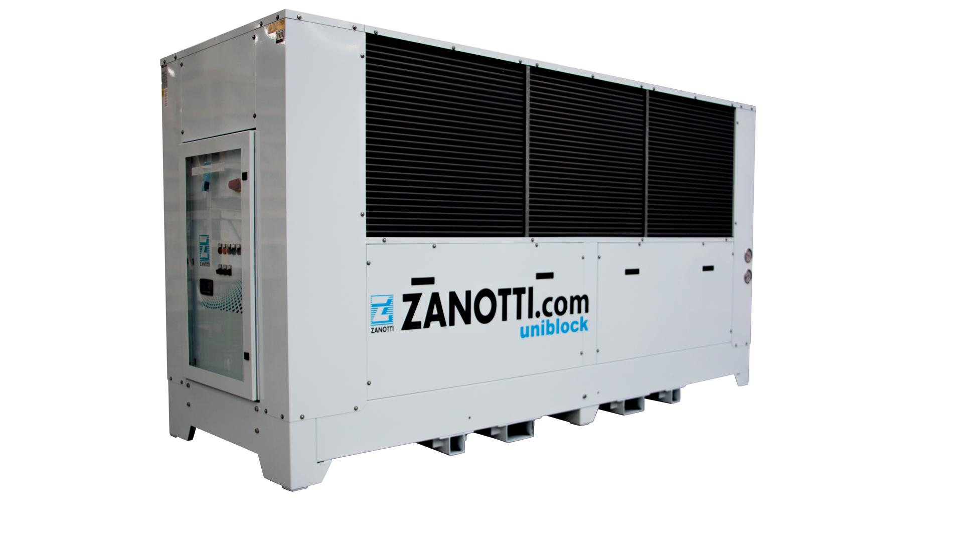 Chiller industriali, modello Zanotti ZC per esterni