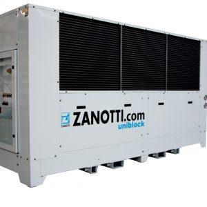 Gruppi refrigeranti per celle frigorifere Zanotti
