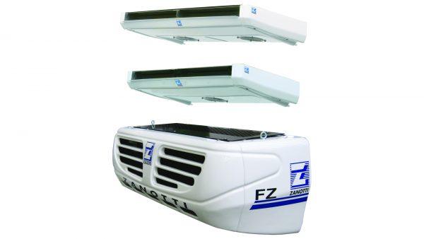Gruppo frigo per furgoni Zanotti