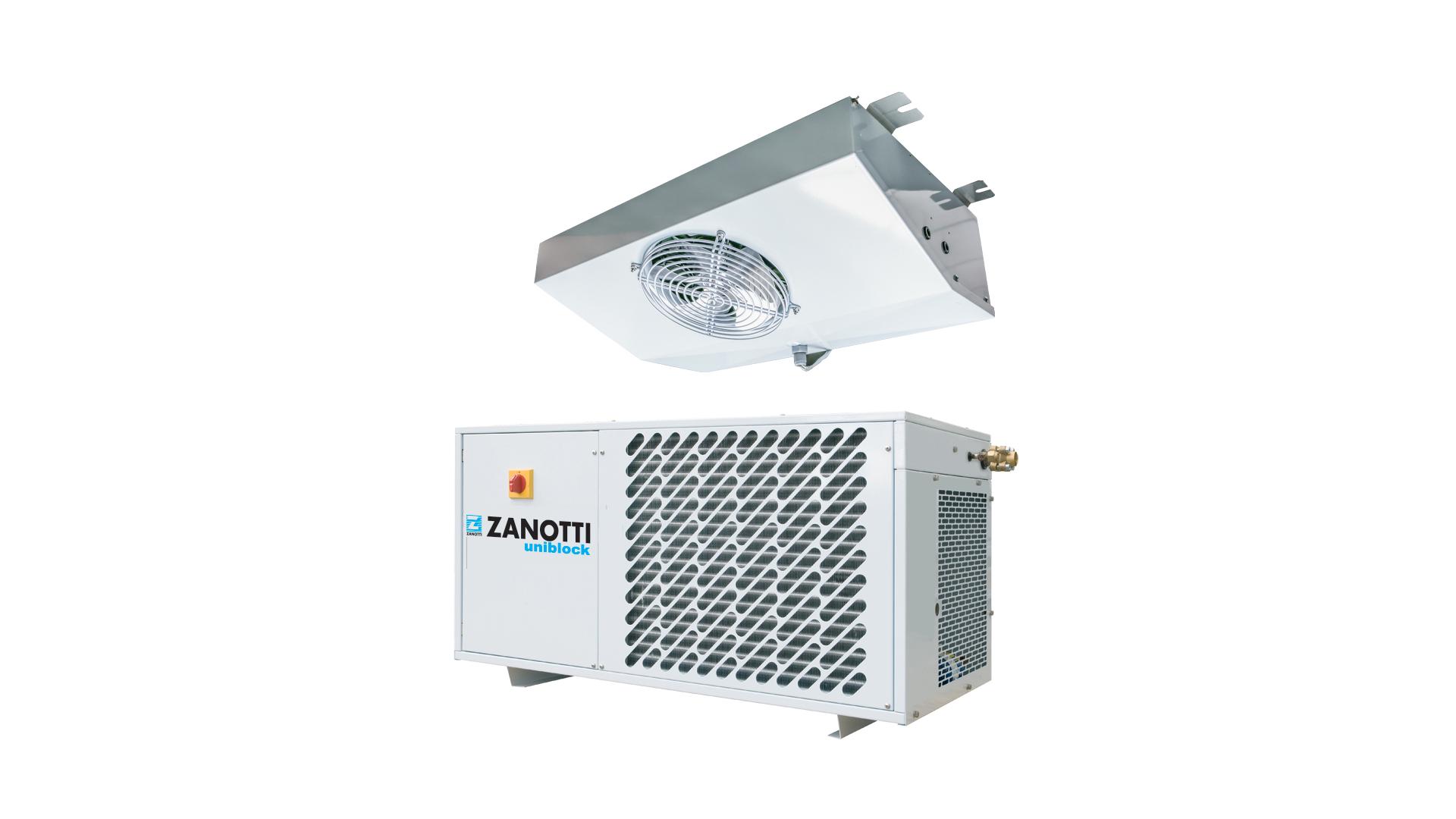 Gruppo refrigerante per celle frigorifere, modello Zanotti DB-O1