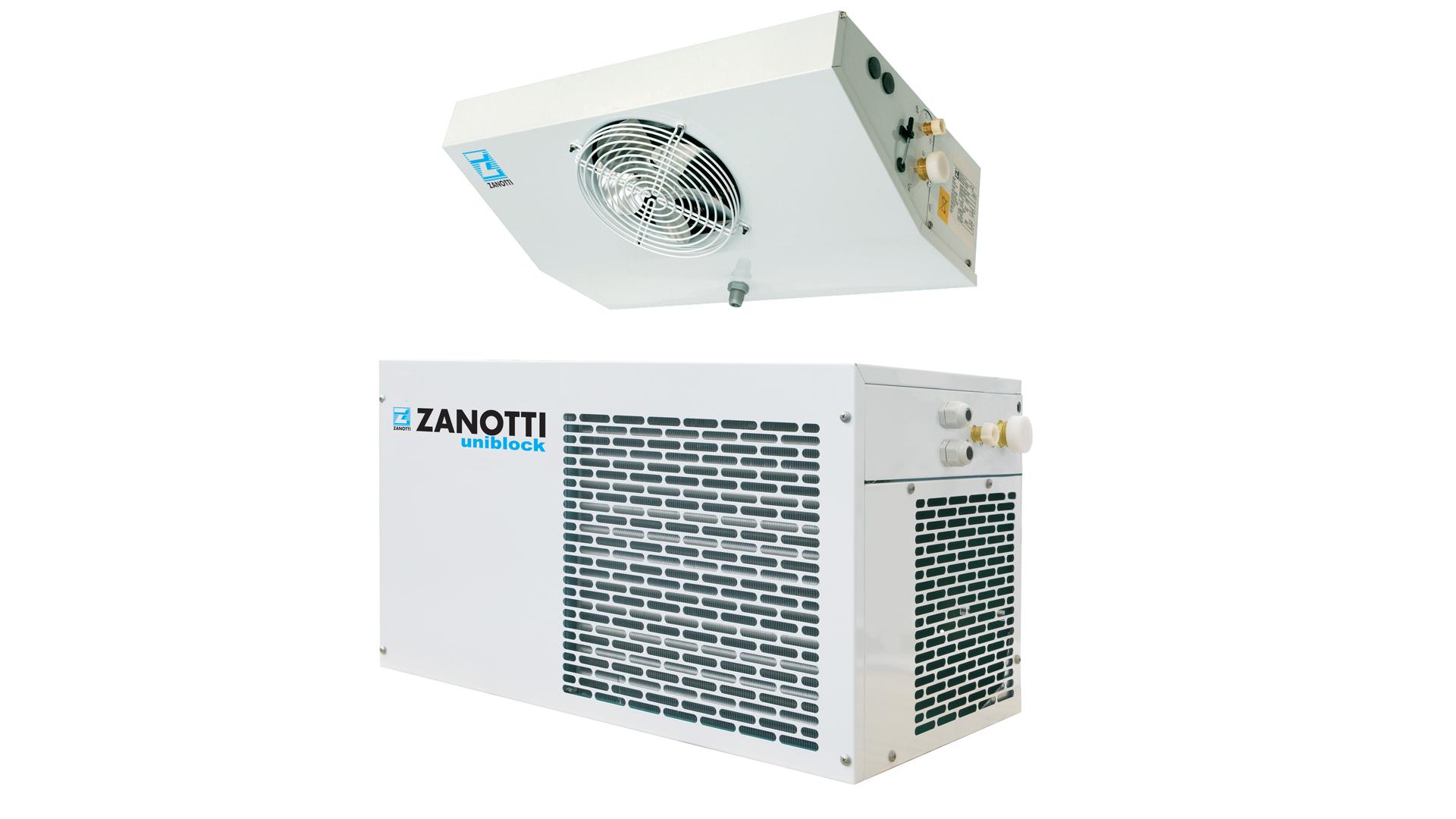 Gruppo refrigerante per cella frigo, modello Zanotti SP-O1