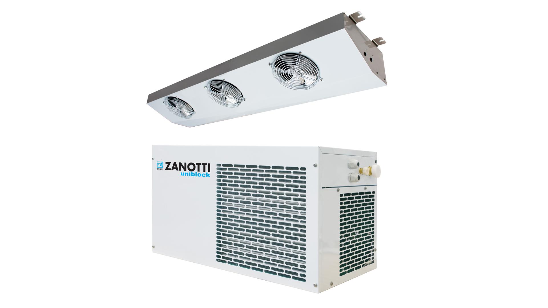 Gruppo refrigerante per cella frigo, modello Zanotti SP-O3