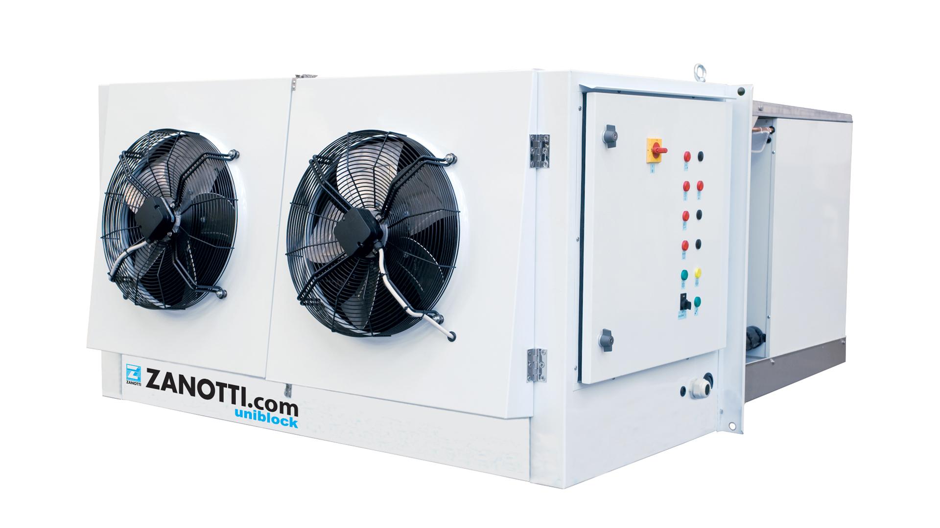 Impianto per cella frigorifera, modello Zanotti RS2