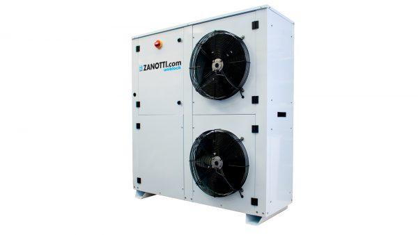 Monoblock chiller units for refrigeration systems Zanotti
