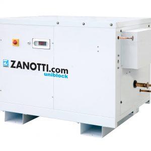 Unità compressori frigoriferi industriali Zanotti