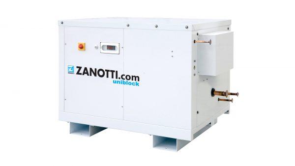Condenserless chiller compression units for cold room Zanotti