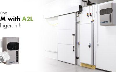 GM A2L range with a low GWP refrigerant