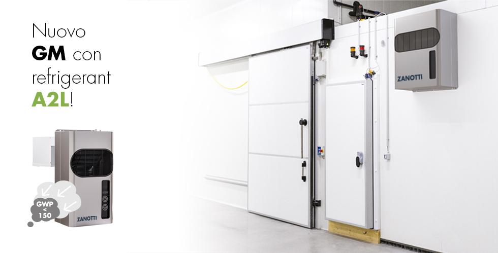 Gamma GM A2L con refrigerante a basso GWP