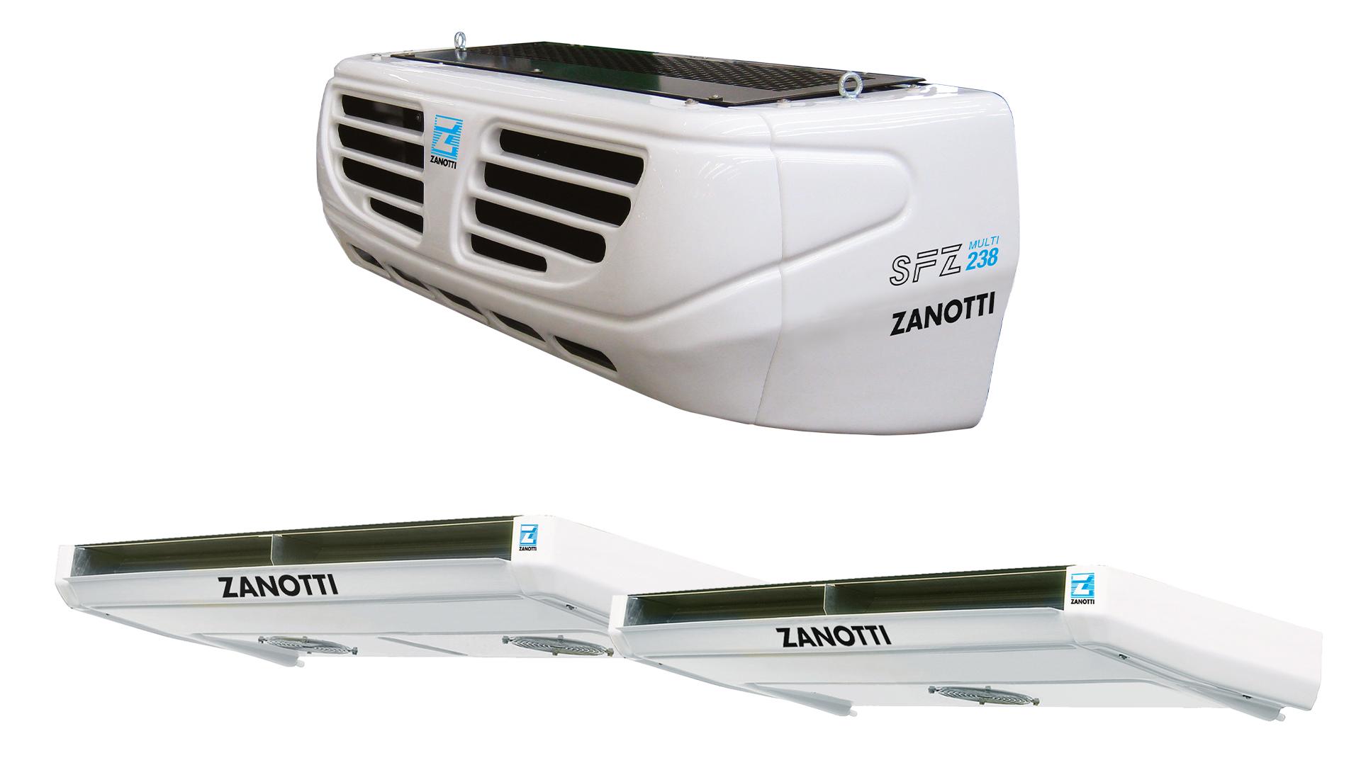 Motore frigo per furgone SFZ238 multi