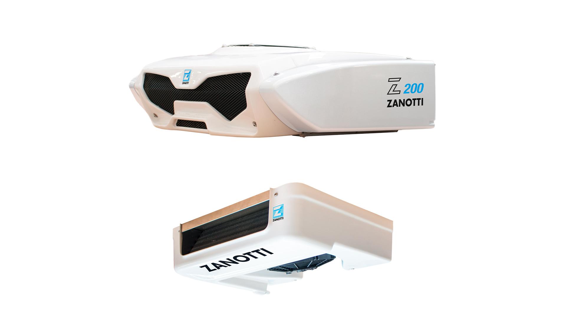 Smart refrigerated transport Zero200