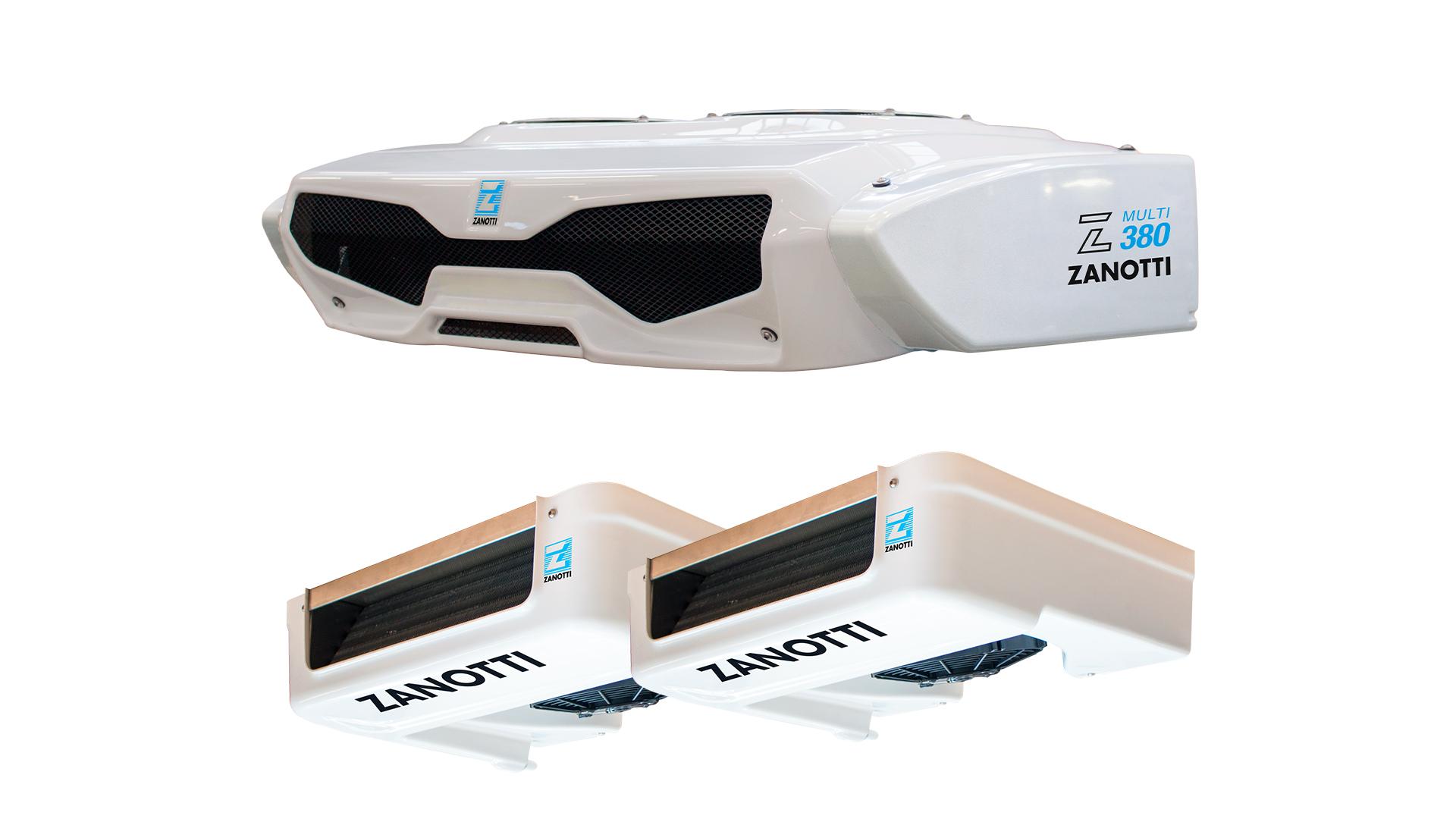 Veicoli commerciali refrigerati Zero380 multi standard